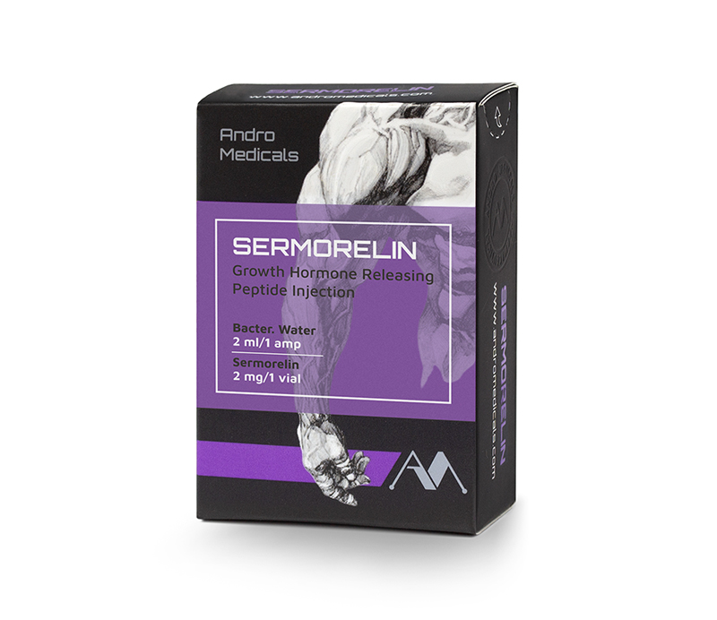Sermorelin — peptide analogue of a Growth Hormone-Releasing Hormone