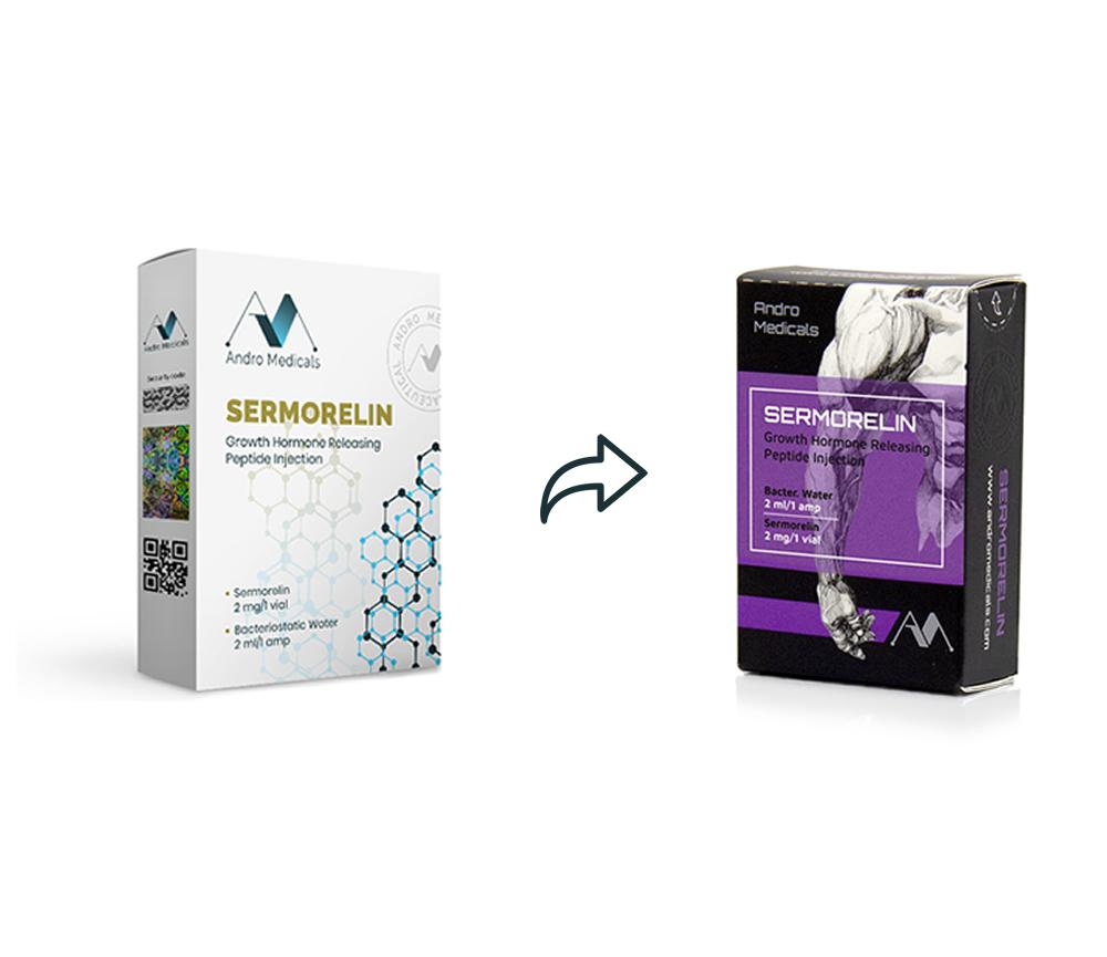 New peptide packaging design