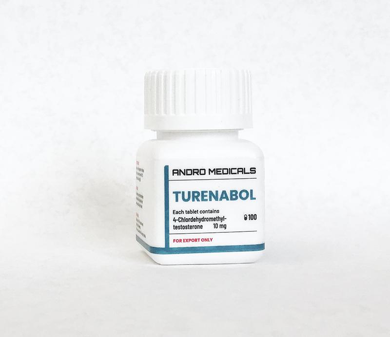 Turenabol 10mg — Chlorodehydromethyltestosterone by Andro Medicals