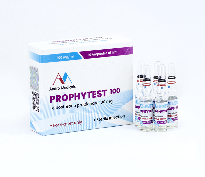 Prophytest 100mg  — Testosterone propionate 100mg by Andro Medicals